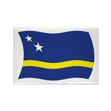 Curacao Flag 2 Rectangle Magnet (100 pack)