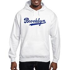 Cursive Blue Brooklyn Hoodie