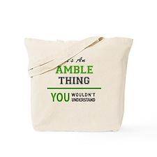 Unique Amble Tote Bag