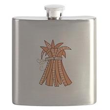 WHEAT STALKS Flask