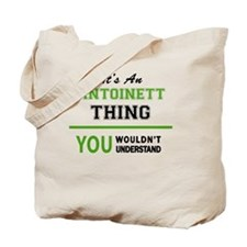Unique Antoinette Tote Bag