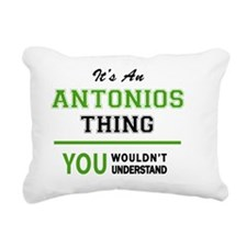 Unique Antonio Rectangular Canvas Pillow