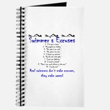 Swimmer's excuses Journal