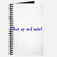 shut up and swim Journal
