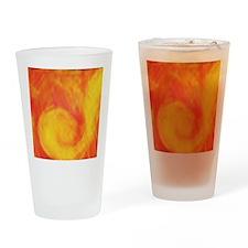 Sunset Wave Drinking Glass