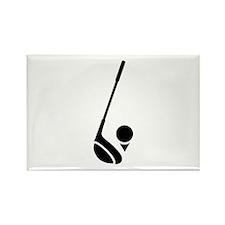 GOLF Rectangle Magnet (100 pack)