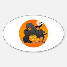 Black Poodle Decal