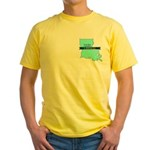 Yellow T-Shirt for a True Blue Louisiana LIBERAL