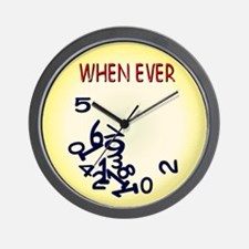 Whenever Wall Clock
