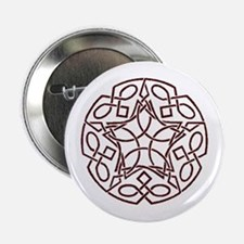 Celtic Protection Magick Pin Button Knot