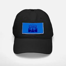 Blue Stadium Baseball Hat