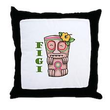 FIGI Throw Pillow