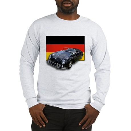 Speedster w/German Flag Long Sleeve T-Shirt