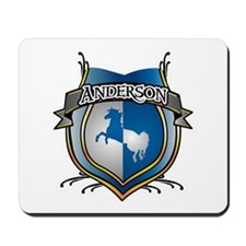 Anderson Coat of Arms Name Mousepad