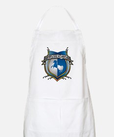 Anderson Coat of Arms Name BBQ Apron