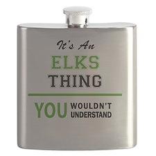 Cute Elk Flask