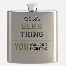 Cute Elks Flask