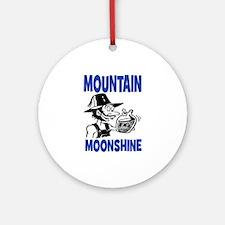 MOUNTAIN MOONSHINE Ornament (Round)