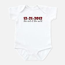 12-21-2012 End of the World Infant Bodysuit