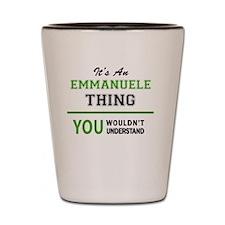 Cool Emmanuel Shot Glass