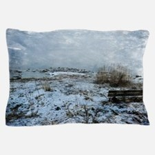Cute The seated view Pillow Case