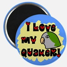Anime Quaker Magnet