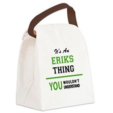 Unique Erik Canvas Lunch Bag