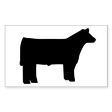 Cattle Rectangle Decal
