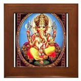 Ganesh Framed Tiles