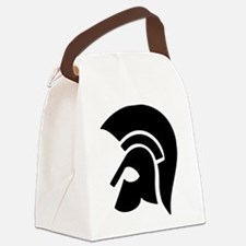 warrior helmet Canvas Lunch Bag