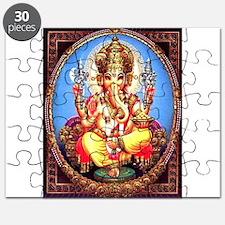 Ganesh / Ganesha Indian Elephant Hindu Deit Puzzle