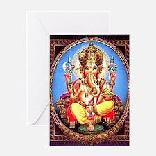 Ganesh / Ganesha Indian Elephant Hi Greeting Cards