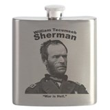 General sherman Flasks