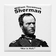 Sherman: Hell Tile Coaster