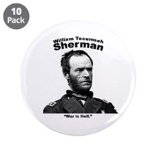 """Sherman: Hell 3.5"""" Button (10 pack)"""
