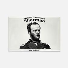 Sherman: Hell Rectangle Magnet