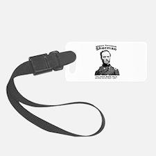 Sherman: War Luggage Tag