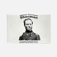 Sherman: War Rectangle Magnet