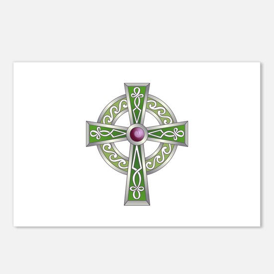 LARGE CELTIC CROSS Postcards (Package of 8)