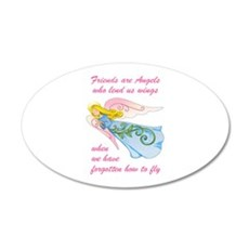 FRIENDS ARE ANGELS Wall Decal