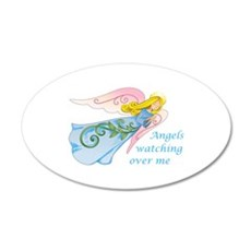 ANGELS WATCHING OVER ME Wall Decal