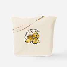 COCKER SPANIEL LOVE Tote Bag