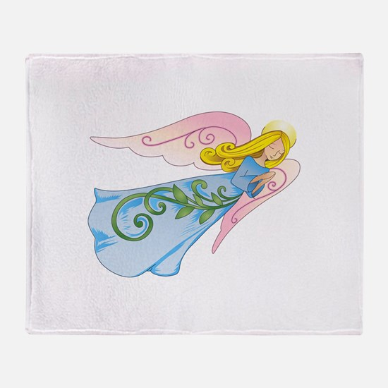 BEAUTIFUL ANGEL Throw Blanket