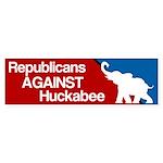 Republicans Against Mike Huckabee Bumper Sticker