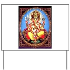 Ganesh / Ganesha Indian Elephant Hindu D Yard Sign