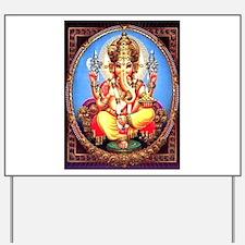 Ganesh / Ganesha Indian Elephant Hindu D Yard Sign