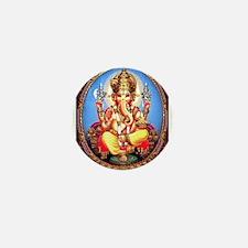 Ganesh / Ganesha Indian Elep Mini Button (10 pack)