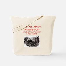 Funny Detective Tote Bag
