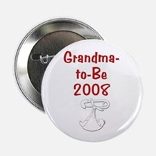 "Grandma-to-Be 2008 2.25"" Button"