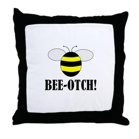 BEE-OTCH Throw Pillow